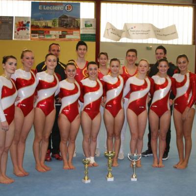 Compétition départementale équipe Villef