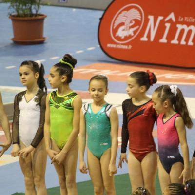 Compétition demi-finale du championnat de France à Nîmes