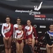 Les filles championnes de France DN3