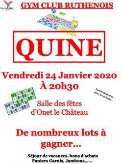 Affiche quine 2020